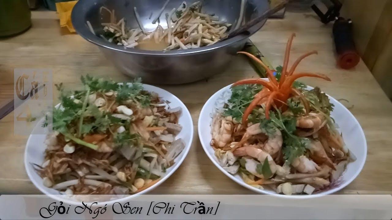 Ếch Nấu Lá Giang | Gỏi Ngó Sen | Tôm Nướng Muối Ớt | Chân Gà Hấp Hành | ẩm thực vợ làm