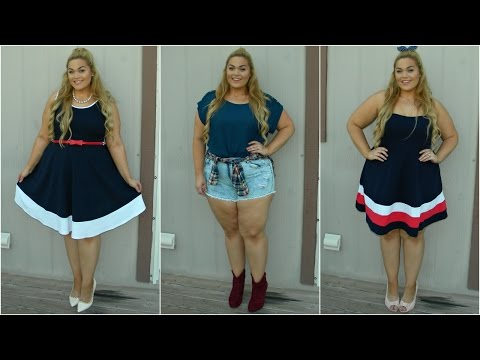 The Curvy Diaries: Americana Summer | Plus-Size Lookbook
