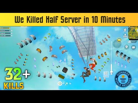 WE KILLED HALF SERVER IN 10 MINUTES | PUBG MOBILE LITE NEW RECORD - SAMSUNG,A3,A5,A6,A7,J2,J5,J7,S5,