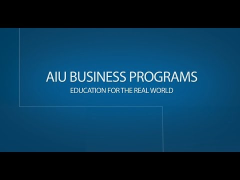 Online Business Degrees at AIU