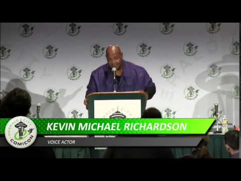 ECCC 2013: KEVIN MICHAEL RICHARDSON  A VOICE LIKE THUNDER