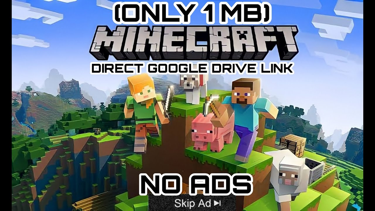 minecraft free download for pc compressed