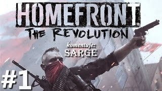 Homefront: The Revolution (PC gameplay 1/2) - Konflikt Korei Północnej i USA | 60 fps