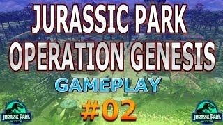 """Detonado Jurassic Park Operation Genesis FullHD """"Senhor DNA"""" [02]"""