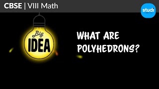 What Are Polyhedrons? | CBSE Class 8 Maths - Visualizing Solid Shapes | Tata Studi (TCE)