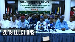 60 Political Parties Pass Vote Of Confidence On INEC