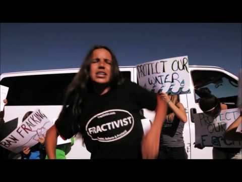 [Music] Earth Guardians - What the Frack - fracking - Politics