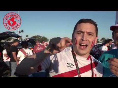 PERU vs CROACIA (Miami) PeruanosEnElMundo - EdicionMundialista con Roberto Pazos