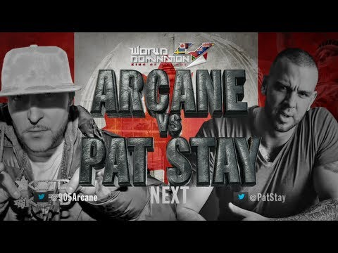 KOTD - Rap Battle - Arcane vs Pat Stay (Title Match) | #WD4