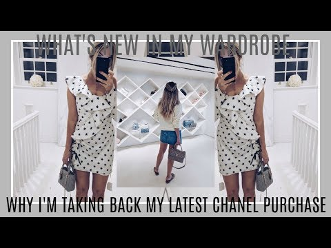 WHAT'S NEW IN MY WARDROBE | A NEW CHANEL PURCHASE WHICH I AM RETURNING | LUXURY HAUL | IAM CHOUQUETE