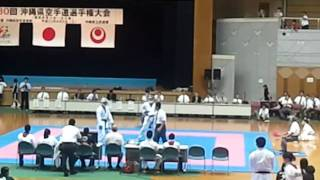 30th Okinawa Prefectural Competition - Kumite 09