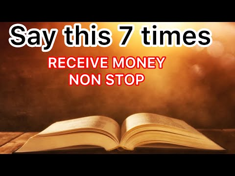 Prayer for financial help and abundance in your life...