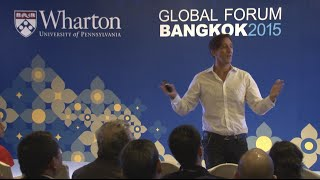 Wharton Global Forum Bangkok 2015: Innovation: Online and Offline with David Bell