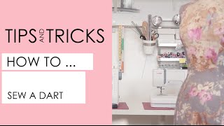 How to mark and sew darts like a pro