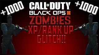 unlimited xp call of duty black ops 3 zombies xp level up glitch