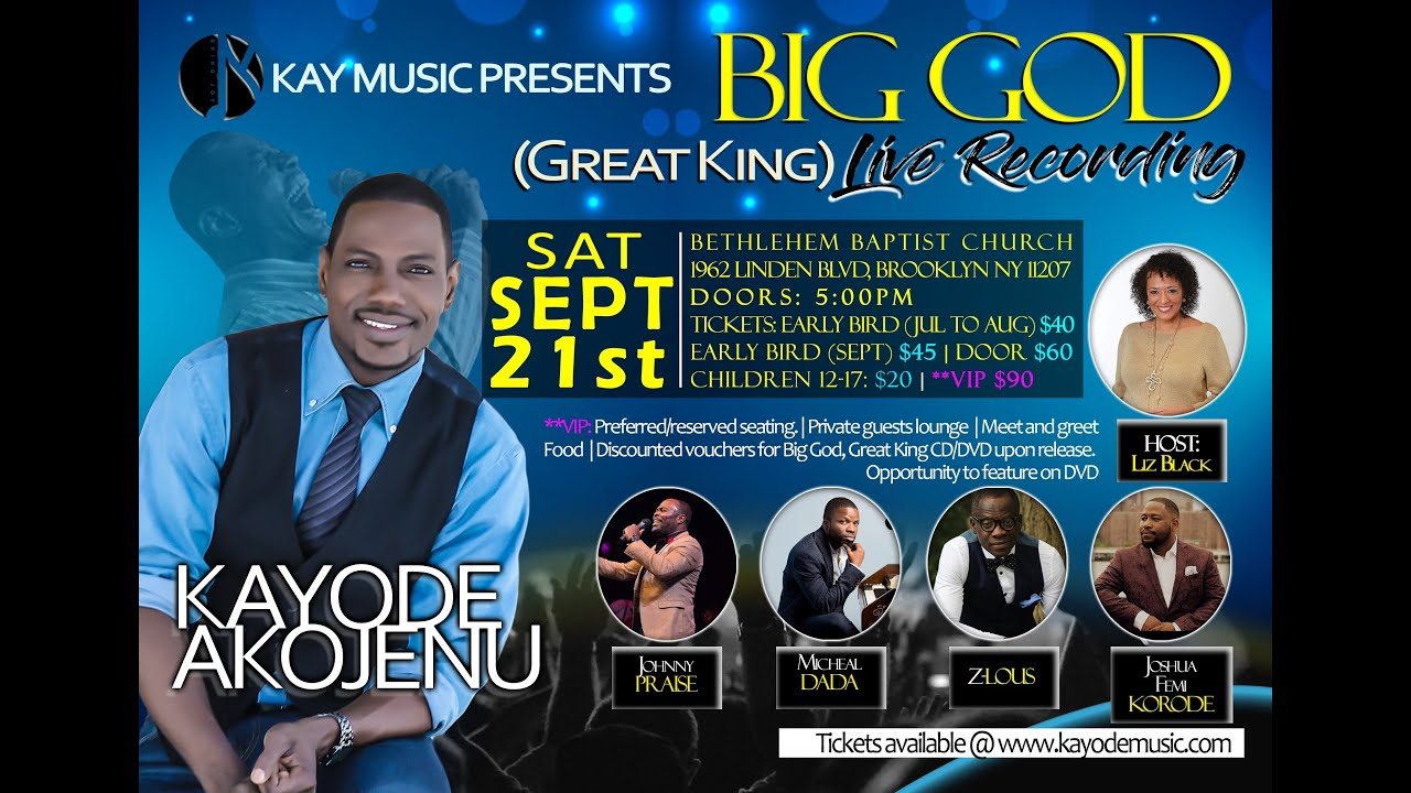 BIG GOD GREAT KING PROMO VIDEO