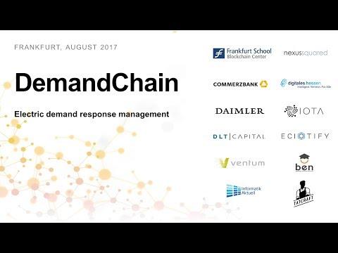DemandChain - Electric demand response management