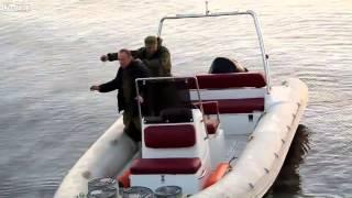El bombası ile balık avı
