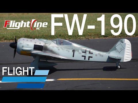 FlightLine FW-190 V2 1120mm - Flight Review - Motion RC