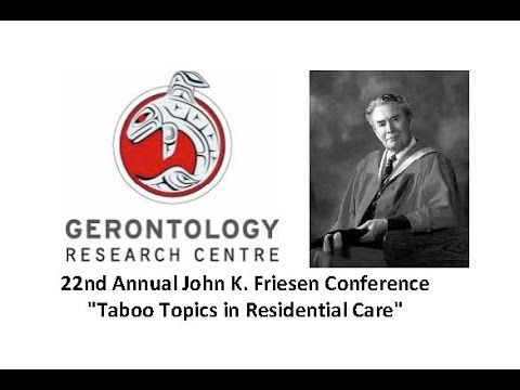 Friesen Conference 2013 - Alcohol, Drugs and Tobacco in Institutional Settings
