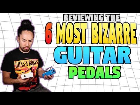The 6 Most Bizarre Guitar Pedals