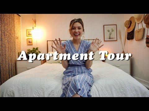 APARTMENT TOUR   San Francisco Mid Century Modern Boho   Tiny Acorn thumbnail