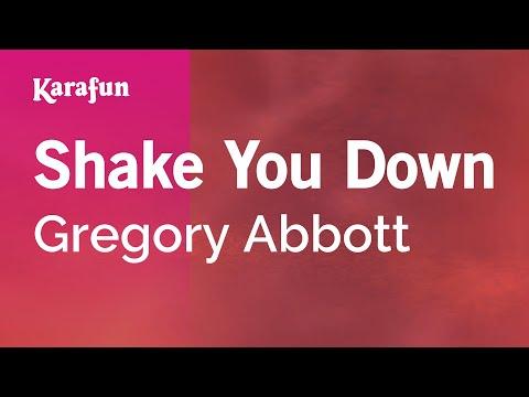 Karaoke Shake You Down - Gregory Abbott *
