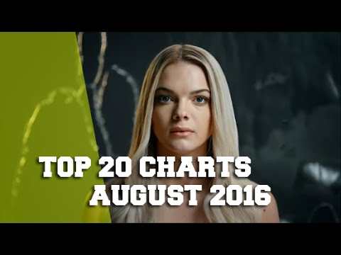 TOP 20 SINGLE CHARTS - AUGUST 2016