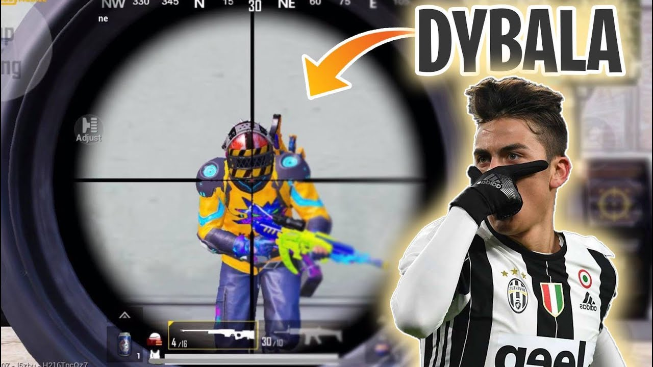 Playing With Paulo DYBALA | PUBG MOBILE