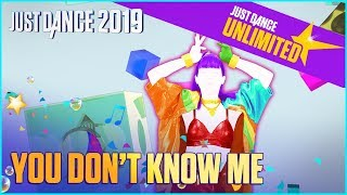 Just Dance Unlimited: You Don't Know Me by Jax Jones Ft. RAYE | Official Track Gameplay [US]