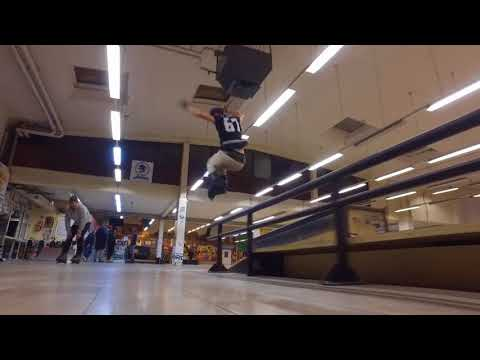 TRIGGER SKATE : Dany Molinari clip at fuck winter session 6