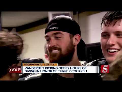 Vanderbilt kicking off 82 hours of giving in honor of Turner Cockrell