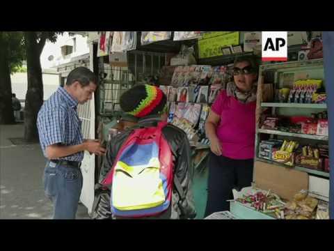 Venezuelans react to U.S. sactions against VP