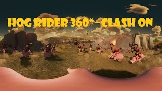 Hog Rider 360 Degree View ( You Have Never Seen Before ) - Clash of Clans | Full Animated