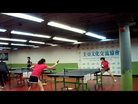 Ping Pong Diplomacy Tournament - Dora Kurimay vs Taylor Wang Pt.1