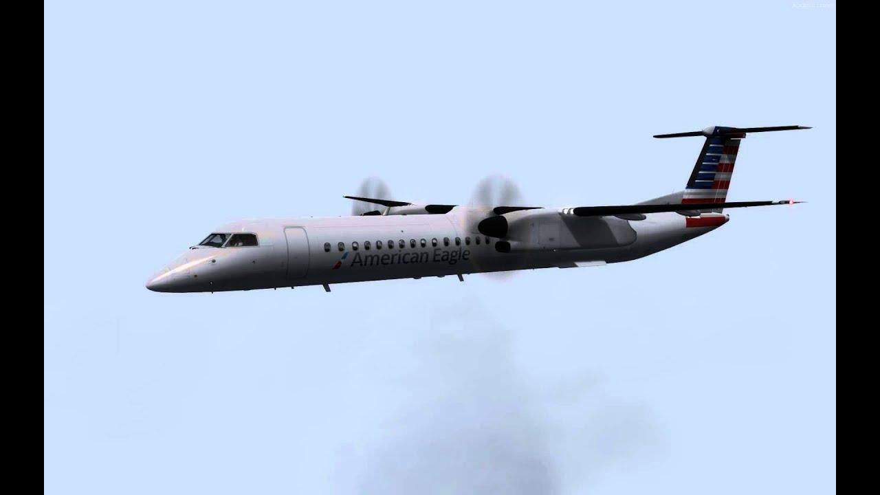 Majestic DHC-8 Q400 KJFK Canarsie 13L Prepar3d v3 - Marshall Arbitman