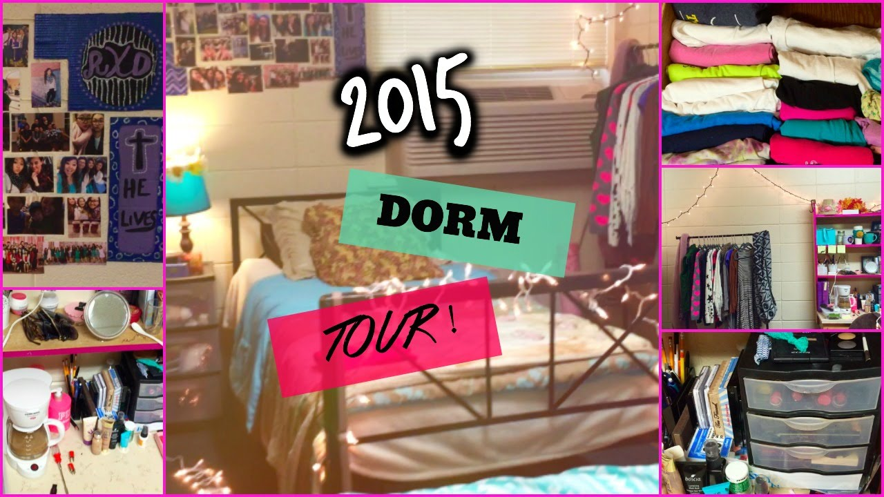 Dorm Tour 2015: Freshman | SincerelyRach   YouTube Part 47