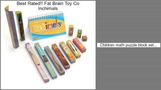 Fat Brain Toy Co Inchimals Review
