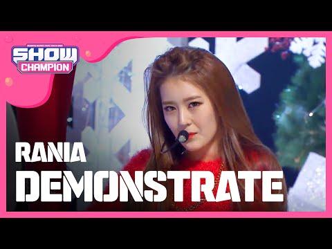 (Showchampion EP.168) RANIA - DEMONSTRATE (라니아-DEMONSTRATE)