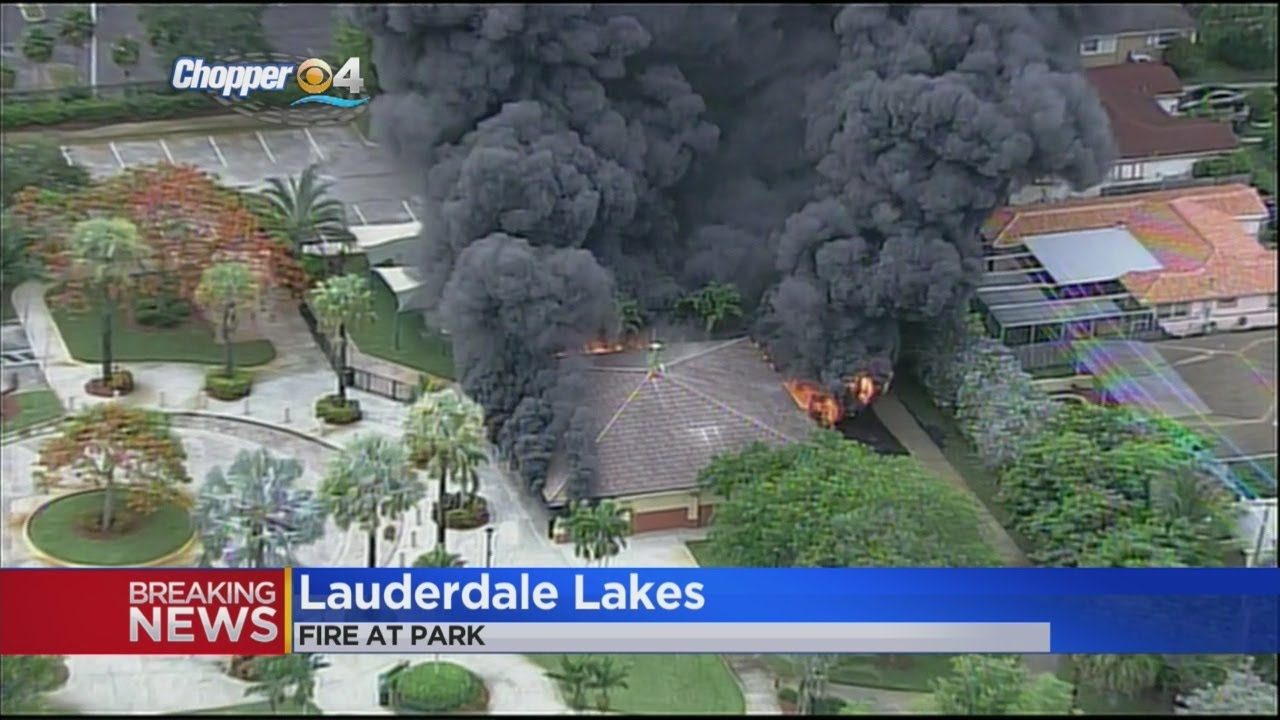 Overnight Fire Breaks Out Inside Lauderdale Lakes Apartment