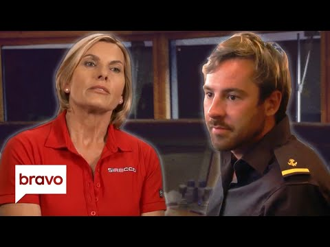 Captain Sandy Gives Travis A Heart To Heart On Alcoholism | Below Deck Med Highlights (S4 E15)