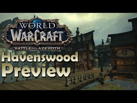 Havenswood - NEW Island Expedition Map Preview | Battle for Azeroth