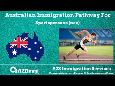 Australia Immigration Pathway for Sportspersons (nec) (ANZSCO Code: 452499)