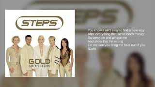 Download Mp3 Steps: Words Are Not Enough  Lyrics