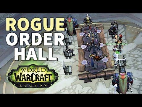 The Dreadblades WoW Outlaw Rogue Artifact Scenario