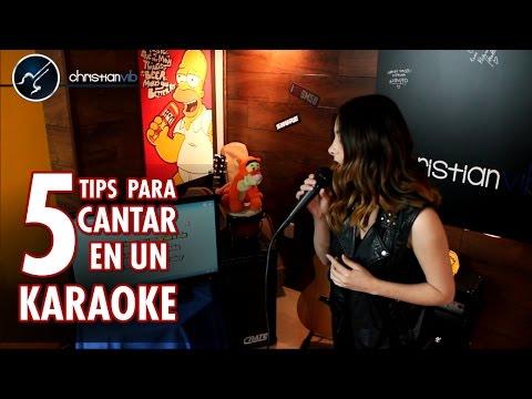 5 TIPS para CANTAR Bien en un KARAOKE | Clases de Canto