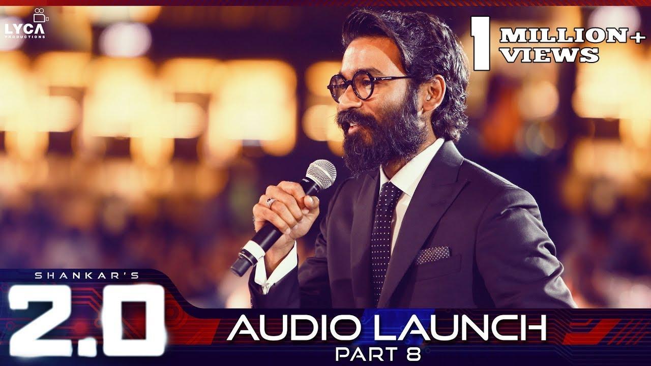 2.0 Audio Launch - Part 8 | Rajinikanth, Akshay Kumar | Shankar ...