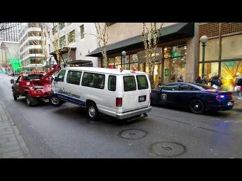 Seattle Van Plows Into People on Sidewalk