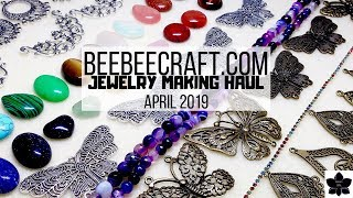 April 2019 Beebeecraft.com Haul | Jewelry Making, Beads, and Craft Supplies | Online Shopping
