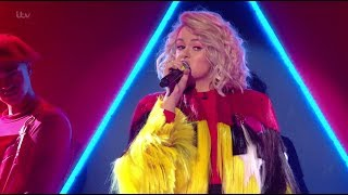 """Grace Davies Takes A Risk and Sings """"Ciao Adios"""" - Live Shows Week 2 